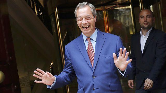 """نايجل فاراج: إنه يوم """"استقلال"""" بريطانيا"""