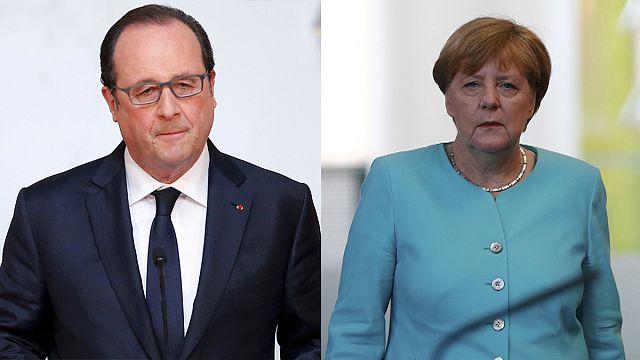 """Merkel, Hollande: """"Rendkívül sajnáljuk"""""""