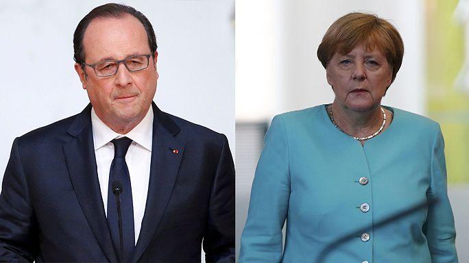"""Меркель и Олланд о """"брексите"""": тяжелый удар, который сделает нас сильнее"""