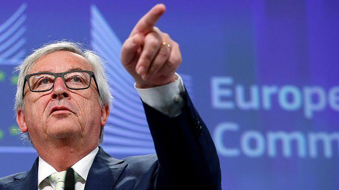 Juncker asegura que no hay tiempo que perder tras el referéndum británico