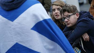 An island within an island, Scotland's independence day next?