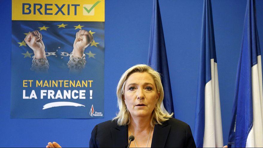 """El """"Brexit"""" provoca euforia en los partidos ultraderechistas europeos"""