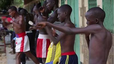 South Sudan kickboxing fights for peace, unity