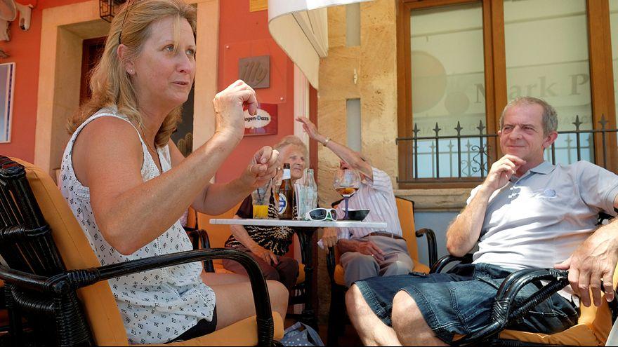 """Briten in Benidorm ratlos: """"Wir leben im Schwebezustand"""""""