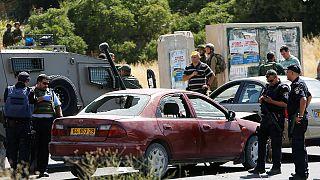 Una palestina abatida por las fuerzas israelíes tras un supuesto intento de atropello