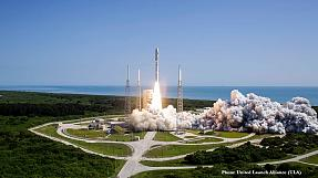 Atlas V da United Launch Alliance descola com sucesso