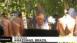 Олимпийский огонь в джунглях Амазонки