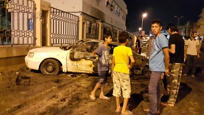 At least 4 people killed in car bomb in Benghazi