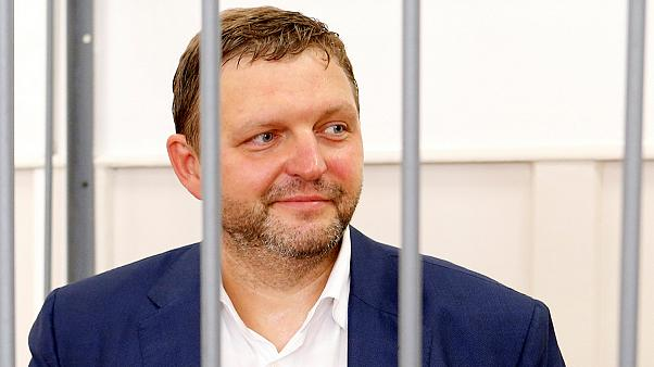 Russian governor Nikita Belykh held over 'large bribe' in corruption probe