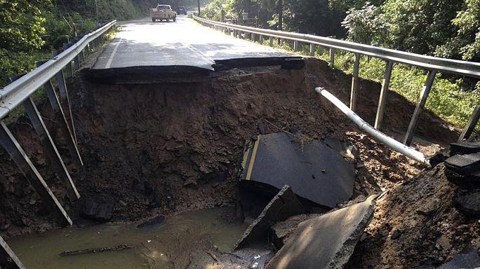 EUA: Chuvas torrenciais deixam mais de 20 mortos na Virgínia Ocidental