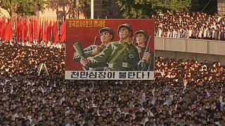 A koreai háborúra emlékeznek Phenjanban