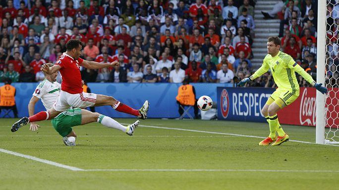 После первой серии плей-офф в 1/4 финала выходят Польша, Уэльс и Португалия