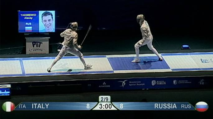 بطولة أوروبا للمبارزة بالسيف : المنتخب الروسي يتوج للمرة الثانية على التوالي