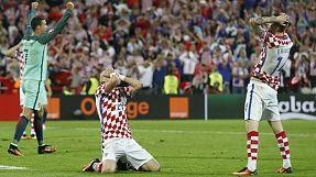 Euro2016, 1/8 final: Portugal-Croácia, 1-0: O minuto 117, a defesa, o golo, a festa