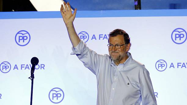 Prime Minister Mariano Rajoy's conservative People's Party wins Spanish general election