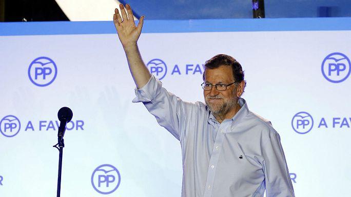 نتائج أولية: حزب الشعب المحافظ  يتصدر الإنتخابات الإسبانية