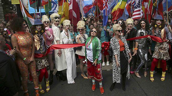 Pride felvonulás Londonban