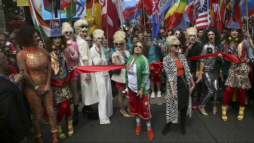 Gay Pride in London tinged with post-Brexit nerves