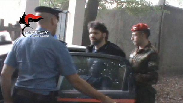 Italian mafia boss captured in mountain village