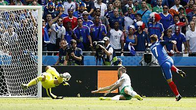 يورو 2016: تأهل فرنسا وألمانيا وبلجيكا إلى دور الربع