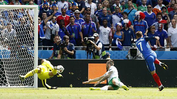 Франция, Германия и Бельгия - в четвертьфинале Евро
