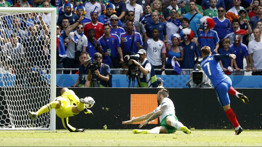 La France, l'Allemagne et la Belgique passent en quart de finale