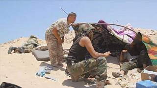 Libya's pro-govt forces make gains in IS stronghold of Sirte