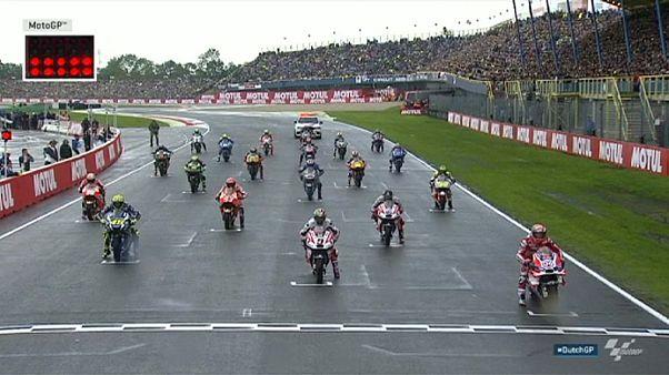 Miller seals maiden MotoGP victory at rain-drenched Dutch TT