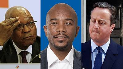 Zuma should learn from Cameron and 'exit' - Opposition