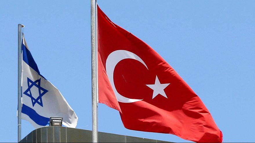 Törökország és Izrael rendezi diplomáciai kapcsolatait