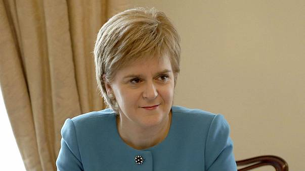 Scotland's Nicola Sturgeon vows to do whatever it takes to remain in the EU