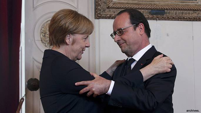Paris and Berlin agree on a strategy following Britain's shock exit vote