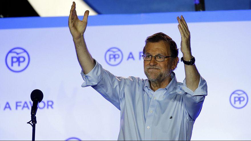 """Législatives en Espagne : Rajoy réclame """"le droit de gouverner"""""""