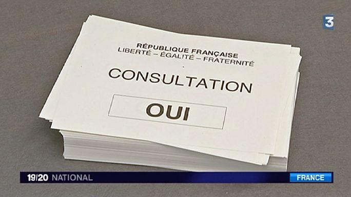 """Francia: """"Sí"""" en referéndum al aeropuerto de Notre-Dame-des-Landes"""