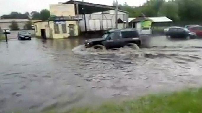 Ливни затопили Польшу и Австрию