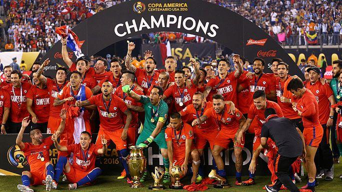 Chile 4-2-re legyőzte Argentínát a Copa America döntőjében