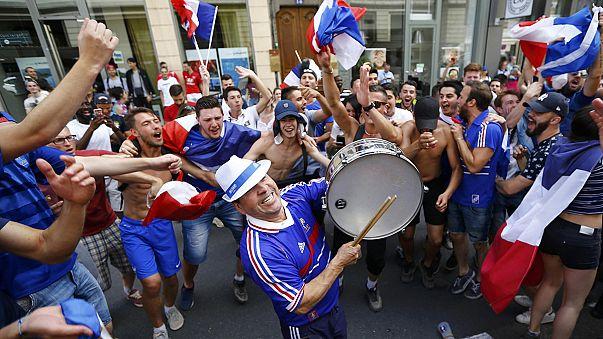 Bellecour desborda de alegría tras la victoria de Francia sobre Irlanda