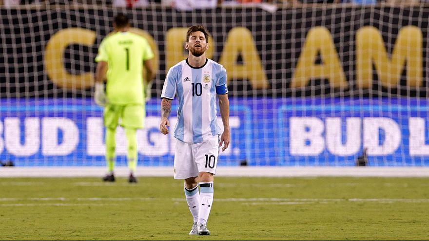 39a58ce47 Lionel Messi retires from international football