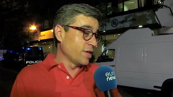 Spagna: i militanti del PP cantano vittoria