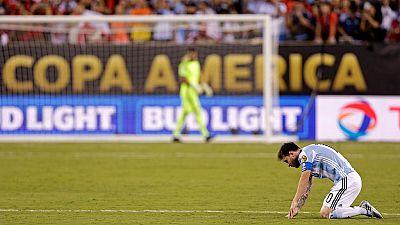 Messi met fin à sa carrière internationale