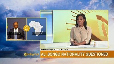 Gabon : polémique sur la nationalité du président Ali Bongo [ The Morning Call ]