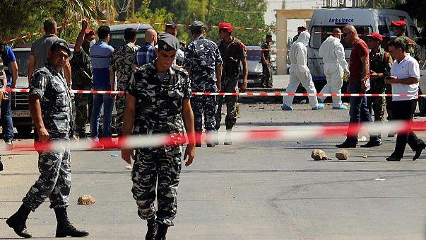 Multiple suicide attacks on Lebanese border village