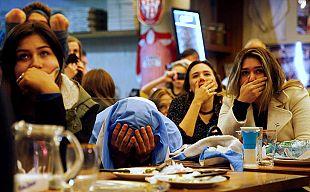 Csalódott argentin rajongók a Copa America döntője után