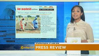 Press Review of June 27, 2016 [The Morning Call]