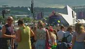 Music lovers mourn Brexit at Glastonbury