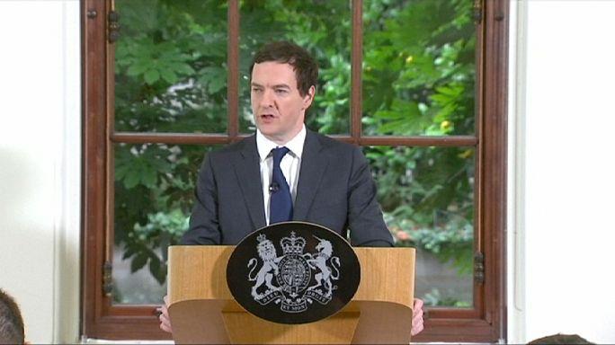 """Brexit"": George Osborne tenta tranquilizar mercados, mas fracassa"