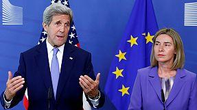 John Kerry lanza un mensaje de calma en Bruselas