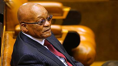 Zuma owes $500,000 for home renovation, S. African Treasury accounts