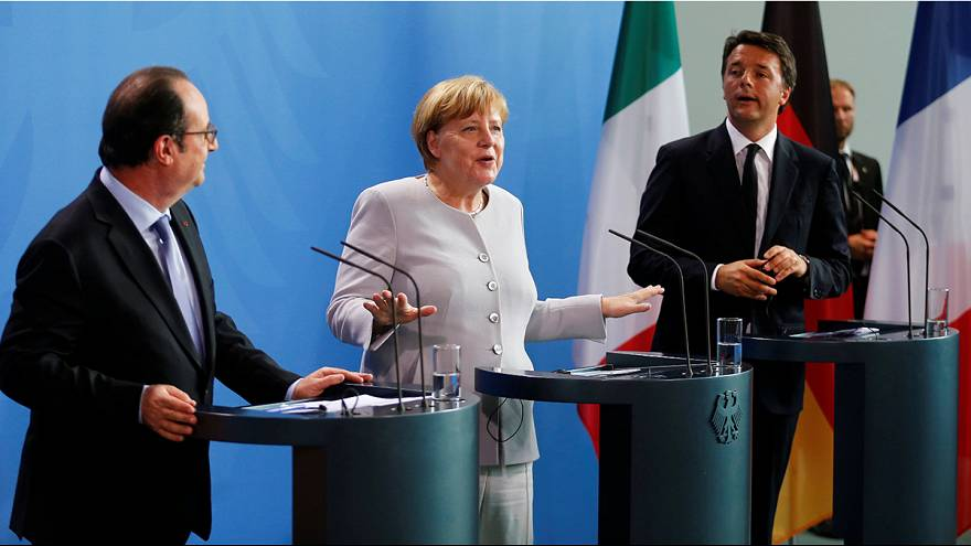 Germany, Italy and France rule out informal talks on Brexit