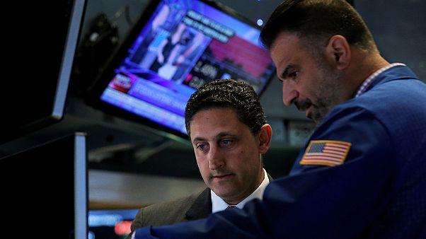 کاهش ارزش شاخص های اصلی سهام در بازار بورس نیویورک